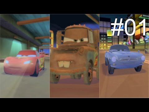 Disney Pixar Cars 2 Gameplay Racing Compilation #01 |
