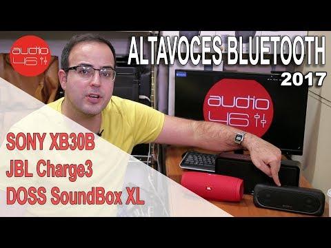 Mejores Altavoces bluetooth 2017 ¿Chinos o de marca?