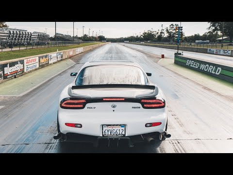Drag Racing my FD Rx-7!