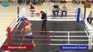Rozum Marek UNIQ Fight Club VS Sobolewski Dawid HUSARIA Gołdap