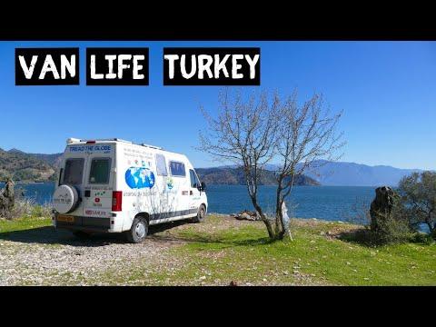 VAN LIFE In Turkey | Dalyan to Koycegiz a GREAT camping spot