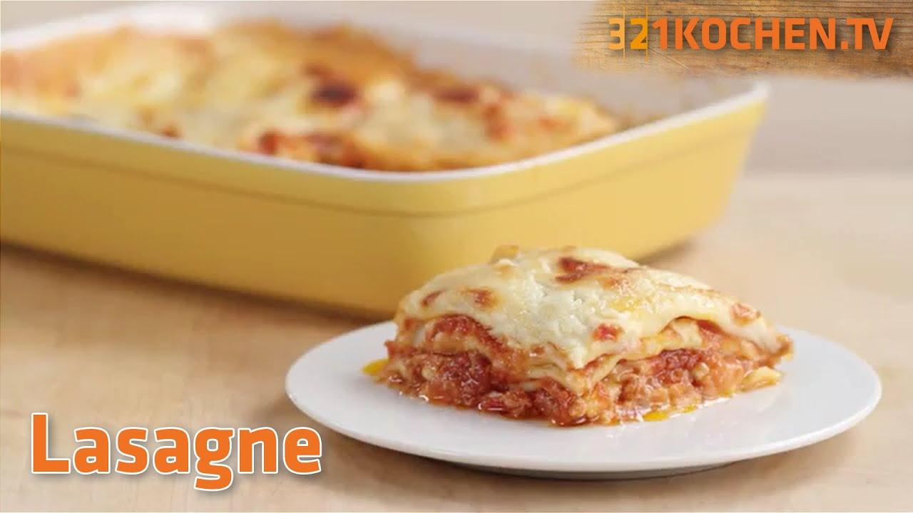 Das Originalrezept für klassische Lasagne