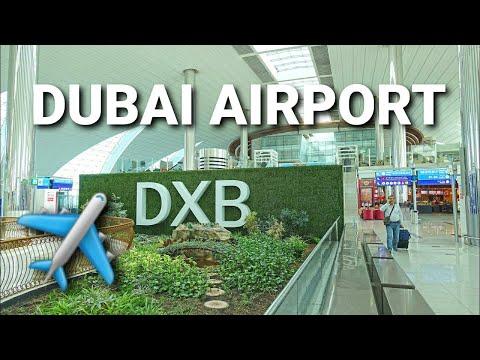 Dubai Airport  - 2016 4K