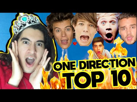 TOP 10 CANCIONES DE ONE DIRECTION 🔥GERA HUSSEIM