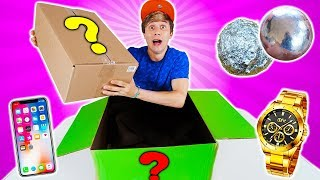 WHAT'S IN A MYSTERIOUS BOX OF MYSTERIOUS BOXES?