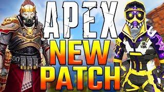 Apex Legends Patch Notes! Netcode Update + Data Center Changes + Code Leaf Error