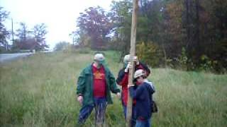 Bird House On A Pole - Troop 350 Service Project