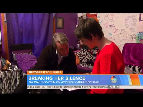 The Today Show: Attorney and victim of Panama City Beach Parasailing Accident for TV interview