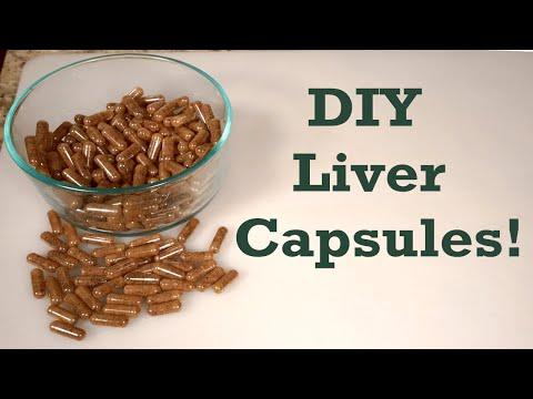DIY Grass-fed Beef Liver Capsules