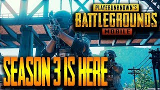 SEASON 3 IS HERE... WHAT IS NEW?!! PUBG MOBILE