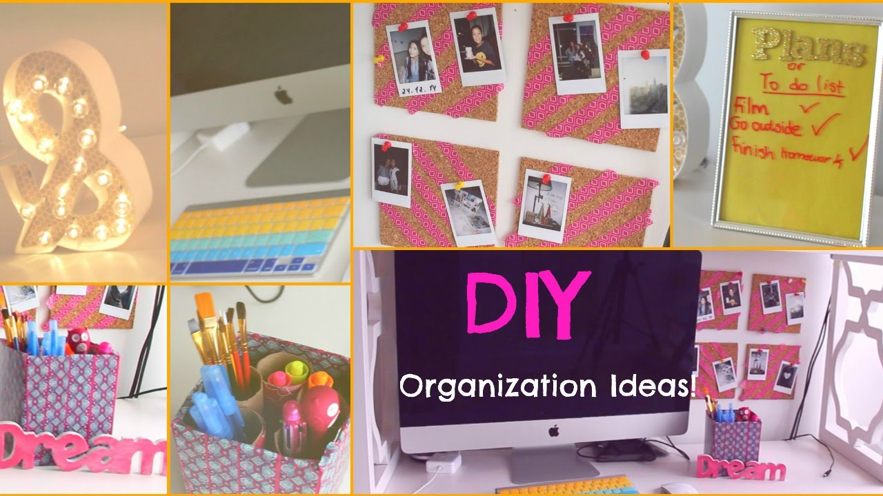 DIY Room Organization   Storage Ideas For Teens   YouTube. Diy Organizing Ideas For Bedrooms. Home Design Ideas