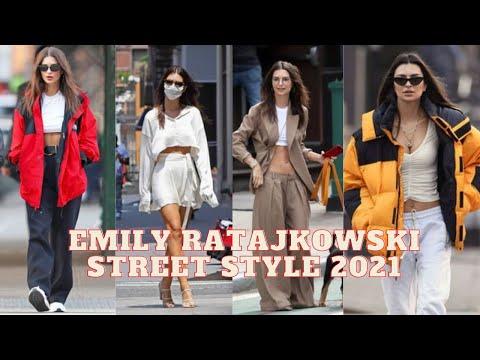 Emily Ratajkowski street style 2021|| emily ratajkowski street style