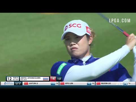 Ariya Jutanugarn Highlights Round 2 2018 Blue Bay LPGA