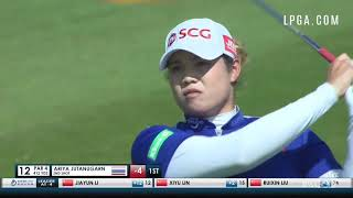 Ariya Jutanugarn Highlights Round 2 2018 Blue Bay LPGA