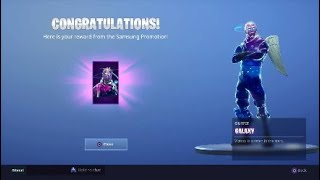 Fortnite-People Reacting to the Galaxy Skin!!!