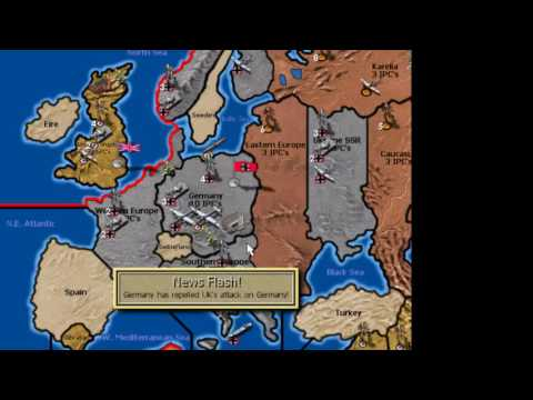 Axis and Allies 1942: Germany: It was the best of look, it was the worst of look