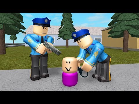 CRIMINAL BABY GETS ARRESTED! - Roblox Jailbreak Roleplay