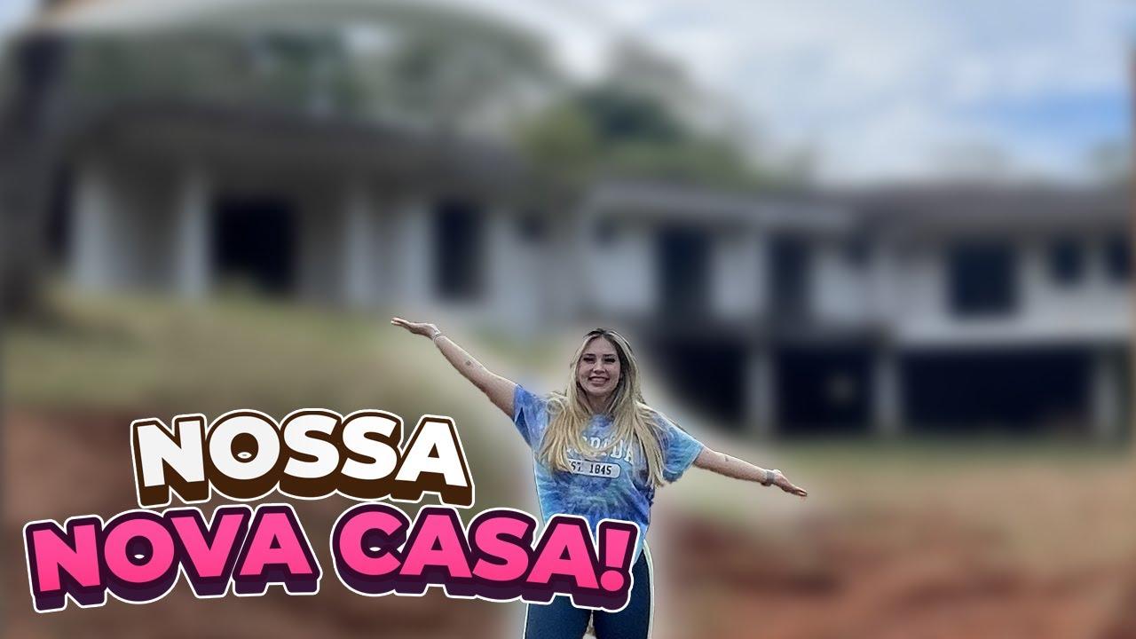 PASSAMOS EM FRENTE NOSSA CASA NOVA!!