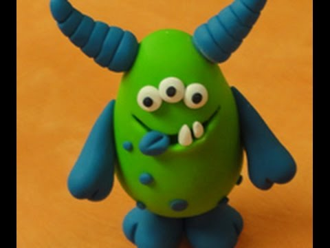 Diy Clay Monsters On Hands On Crafts For Kids 1412 1 Youtube