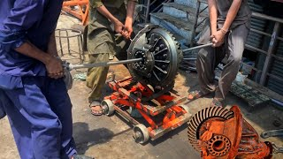 How to Repair Br๐ken differential Gear of a Truck    How to Rebuild Truck Broken Rear Differential