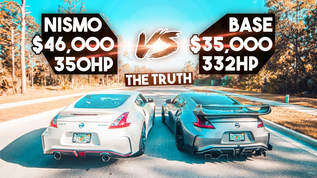 Nissan 370Z Base Vs. 2016 NISMO: The BIG $10,000 Difference.. **is it worth it?**