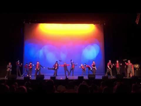 """Perry High School's """"Mary Poppins"""" at the ASU Gammage High School Theatre Awards 2017"""