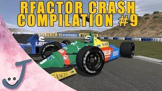 rFactor Crash Compilation #9