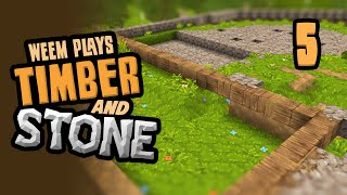 Timber & Stone Let's Play 1.6 - Fortress Floor Plan - Part 5