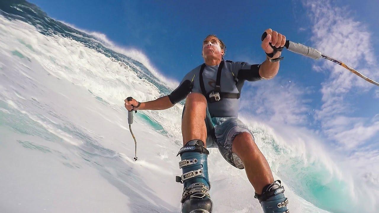 Skiing Jaws