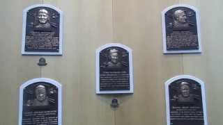 Sports Palooza Visits the MLB Hall of Fame (1936 Plaques)