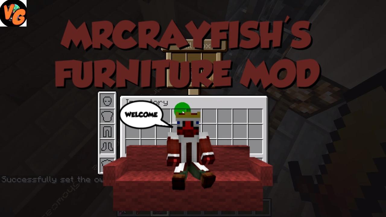 Minecraft 1 11 2 mod showcase furniture mod w download