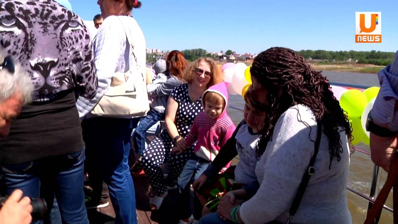 U news   Дети с ограниченными возможностями отправились в путешествие по реке