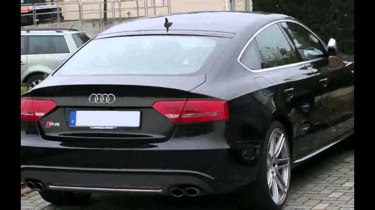 audi a5 sportback 2 0 tfsi 225 cv quattro s line edition fotos youtube. Black Bedroom Furniture Sets. Home Design Ideas
