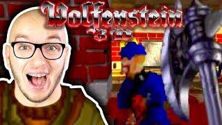 POWRÓT DO KORZENI! | BRUTAL WOLFENSTEIN 3D #1
