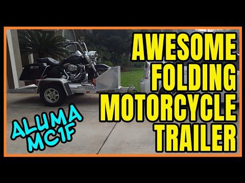 motorcycle-trailer---aluma-mc1f-/-review-&-demo