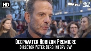 Director Peter Berg Premiere Interview - Deepwater Horizon