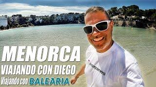 Menorca con Baleària - Viajando con Diego