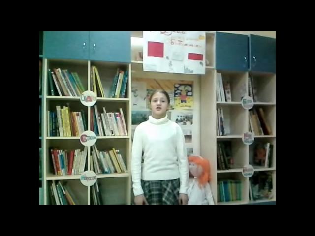 Изображение предпросмотра прочтения – АнастасияТупицина читает произведение «Свинья под дубом» И.А.Крылова