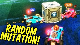 DEMOLITION CUBE WARS! - Rocket League Fun Mutation