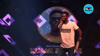 Kuami Eugene performs at Presec Torch and Bonfire Night