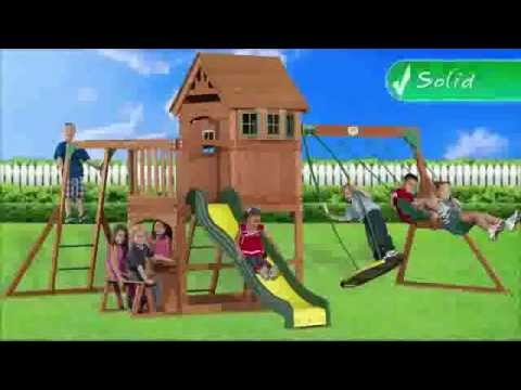 Montpelier Swing Set Backyard Discovery Youtube