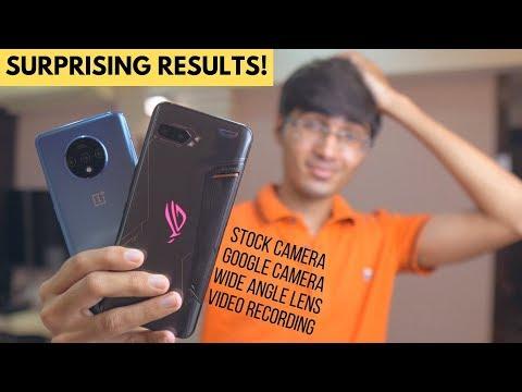 ROG Phone 2 vs OnePlus 7T Honest Camera Comparison🔥'Shocking' Results!
