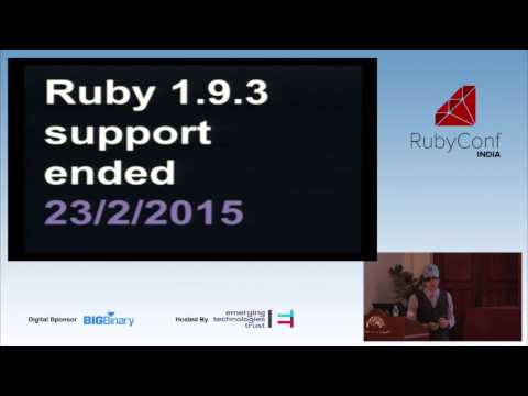 RubyConf India 2015 - Terence Lee