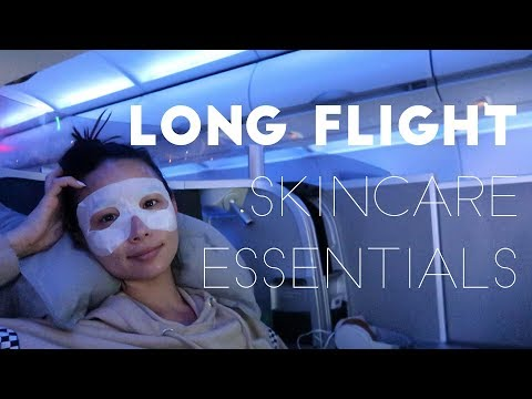 My In-Flight Skincare Routine - Airplane Skincare | Aja Dang