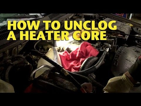 How To Unclog a Heater Core  EricTheCarGuy  YouTube