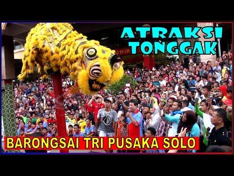 Lihat Barongsai Jatuh DEG-DEGan IMLEK 2017 ✿ Lion Dance ✿ Gong Xi Fa Cai