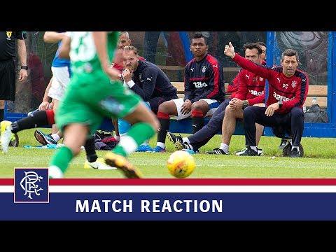 REACTION | Pedro Caixinha | Rangers 1-1 TNS