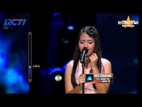 "Hanin Dhiya ""Hurt"" Christina Aguilera - Rising Star Indonesia Winning 11 Eps. 17"