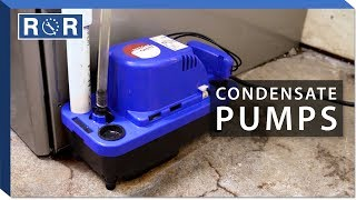 How to Troubleshoot a Condensate Pump   Repair and Replace