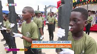 Awesome Cadet Marching Drill & Live Band at Greater Grace Int'l School